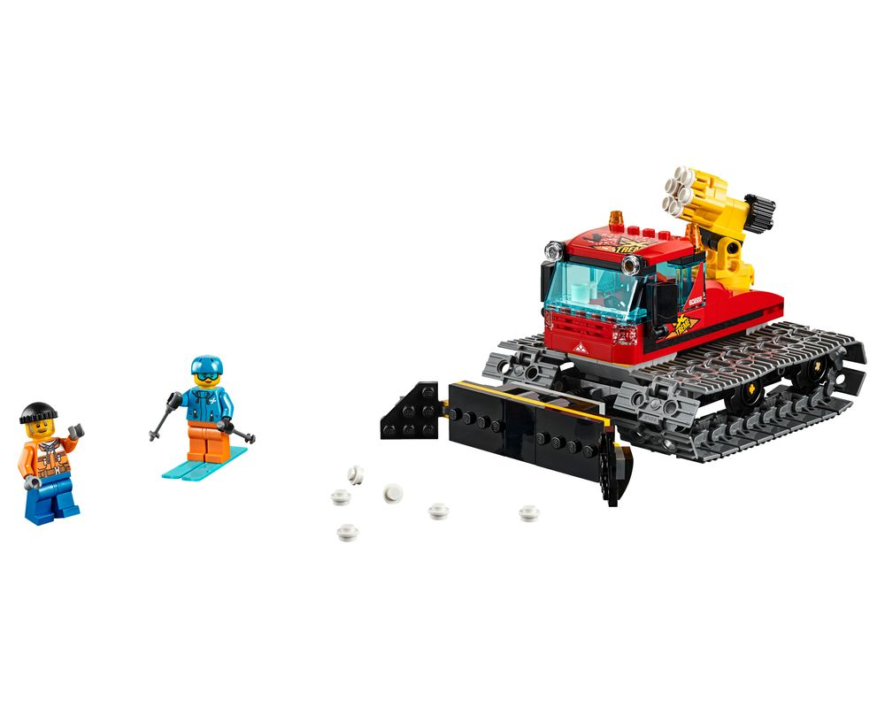 LEGO Set 60222-1 Snow Groomer (LEGO - Model)