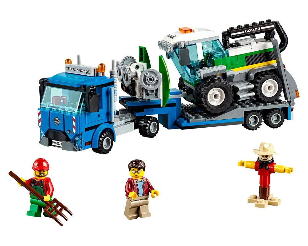 LEGO Set 60223-1 Harvester Transport (LEGO - Model)