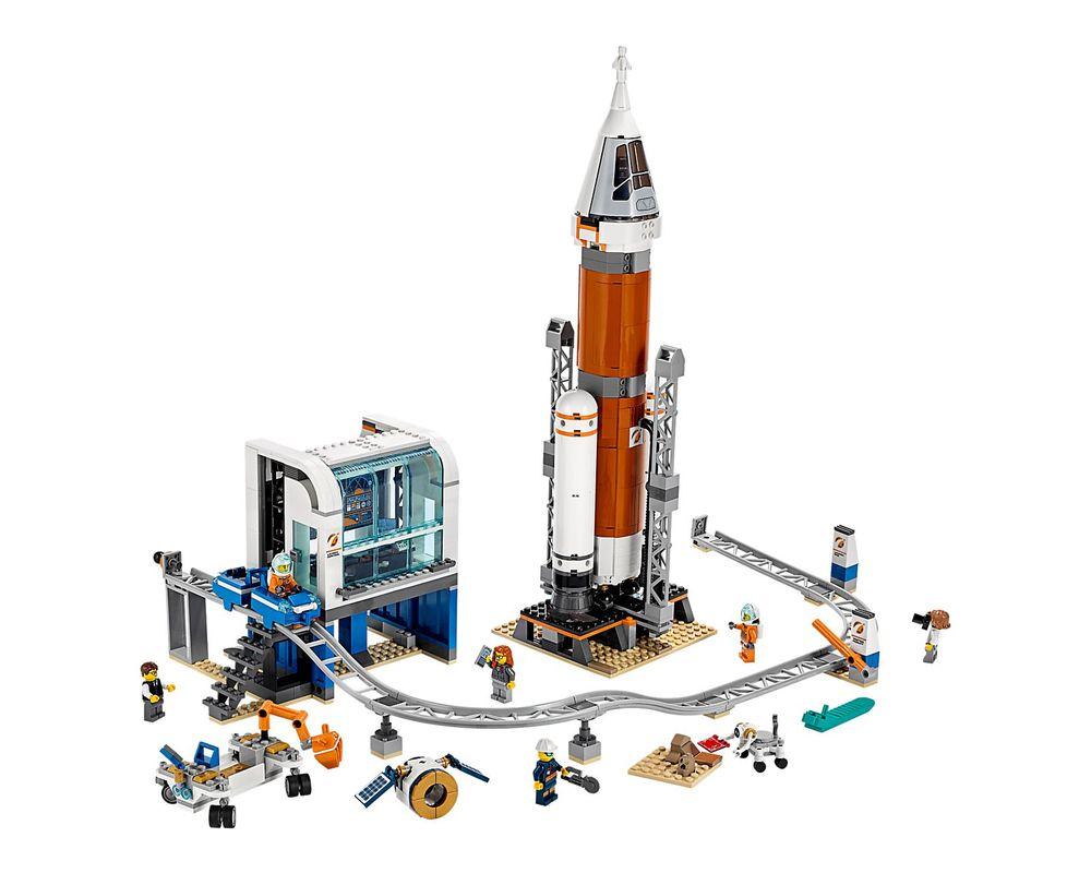 LEGO Set 60228-1 Deep Space Rocket and Launch Control (Model - A-Model)