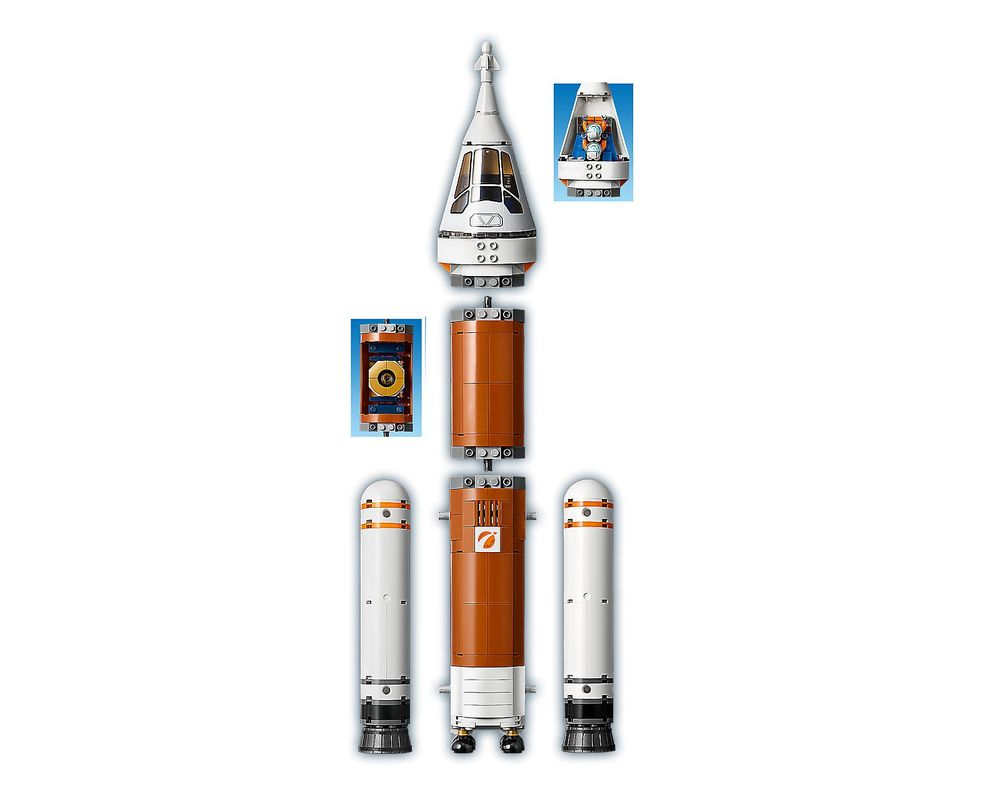 LEGO Set 60228-1 Deep Space Rocket and Launch Control