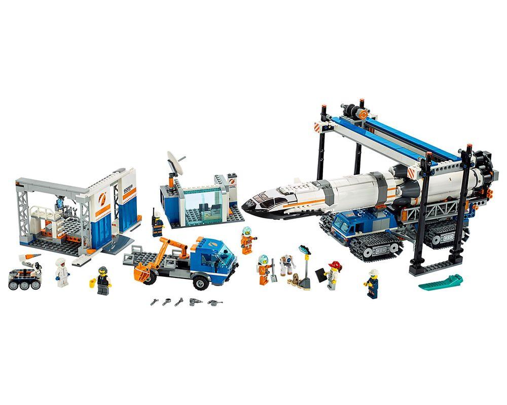 LEGO Set 60229-1 Rocket Assembly & Transport