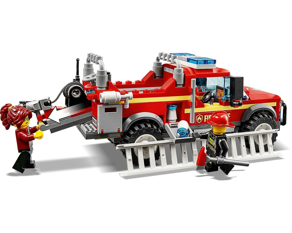 LEGO Set 60231-1 Fire Chief Response Truck