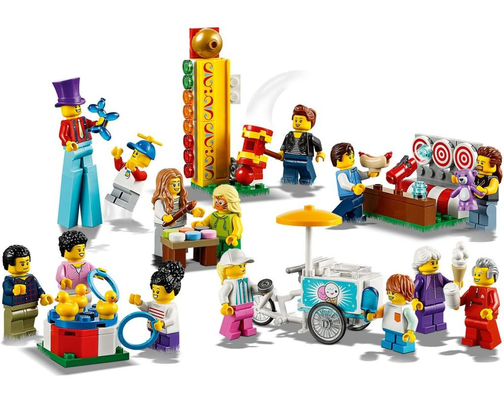 LEGO Set 60234-1 People Pack - Fun Fair (Model - A-Model)