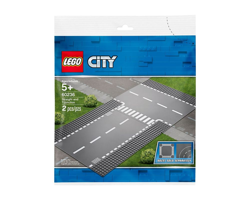 LEGO Set 60236-1 Straight and T-junction