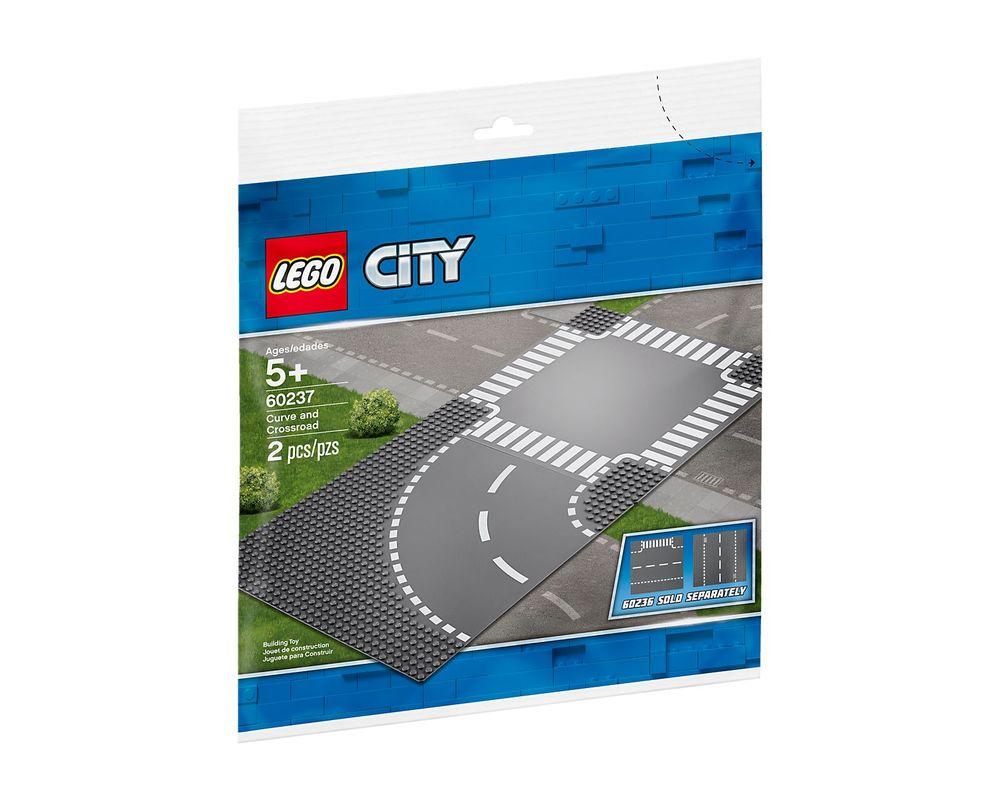 LEGO Set 60237-1 Curve and Crossroad