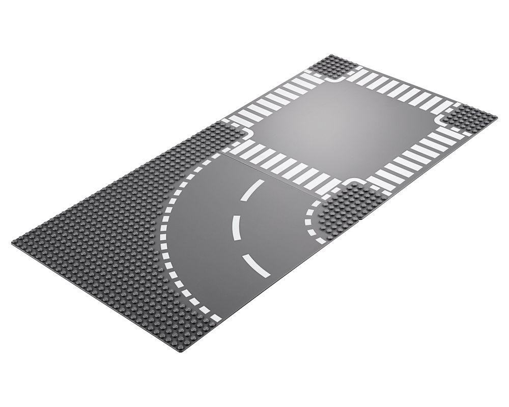 LEGO Set 60237-1 Curve and Crossroad (Model - A-Model)