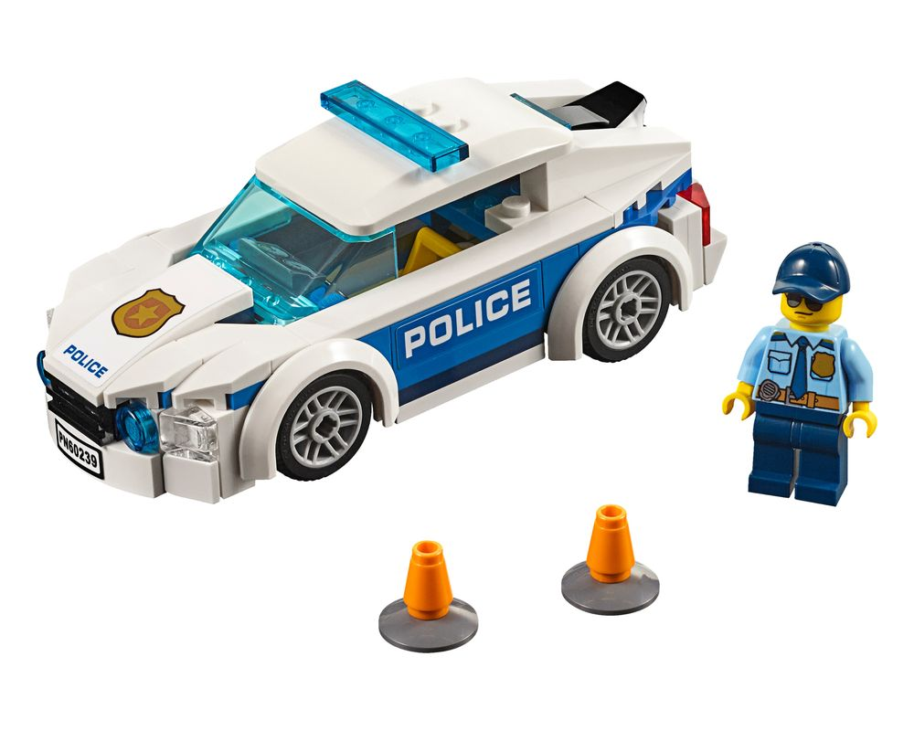 LEGO Set 60239-1 Police Patrol Car (Model - A-Model)