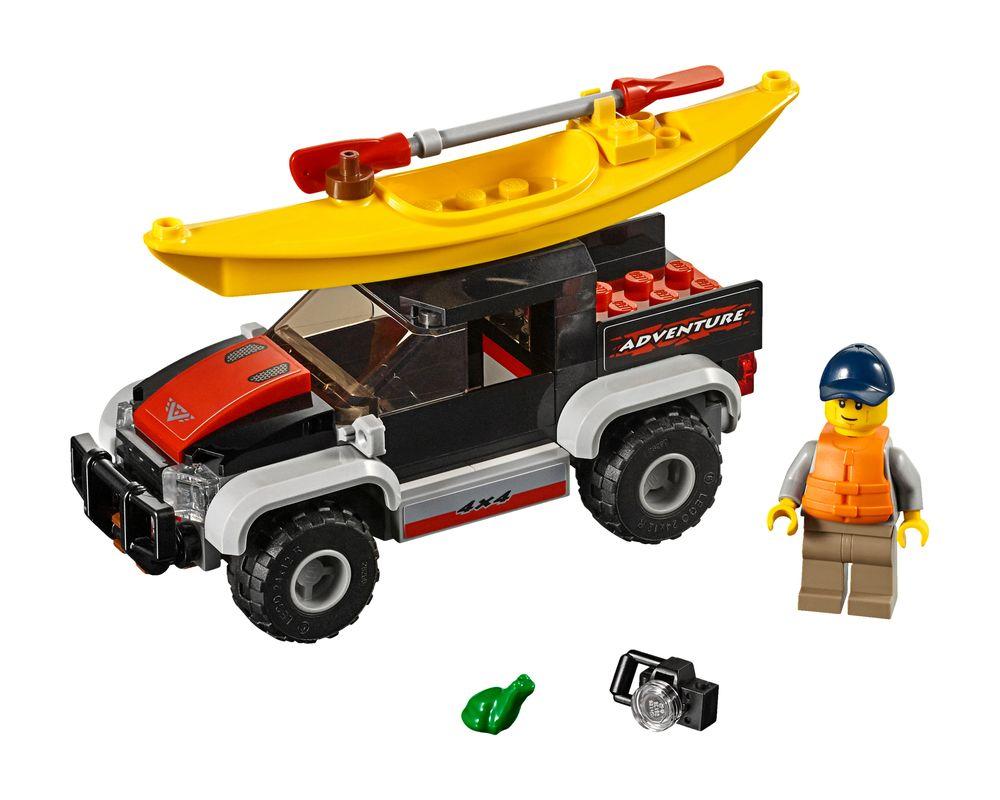 LEGO Set 60240-1 Kayak Adventure (Model - A-Model)
