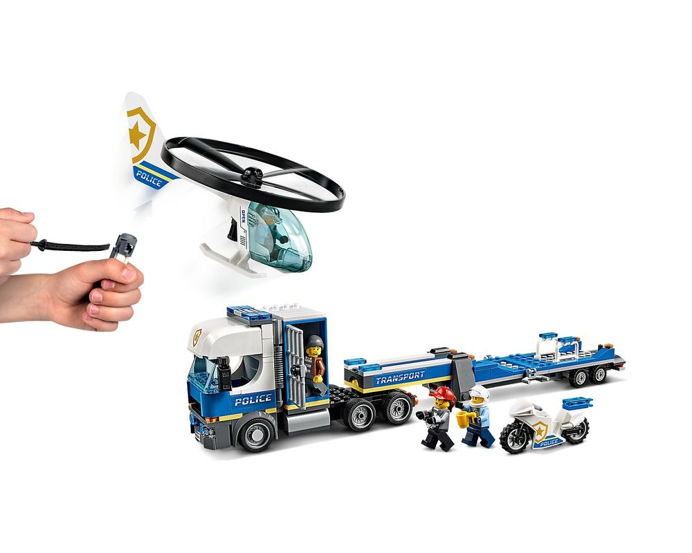 LEGO Set 60244-1 Police Helicopter Transport