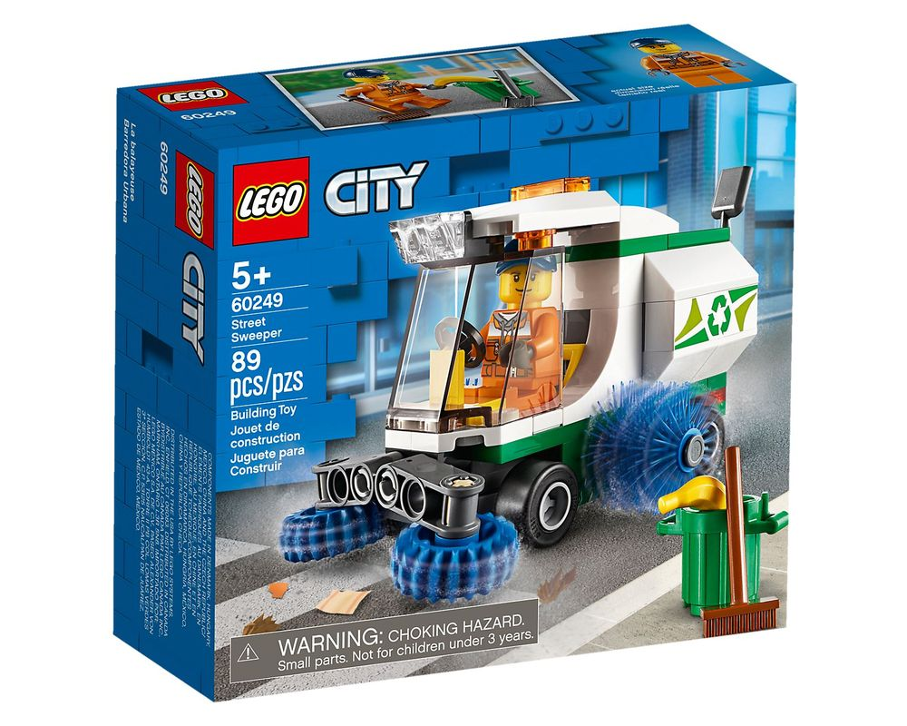 LEGO Set 60249-1 Street Sweeper (Box - Front)