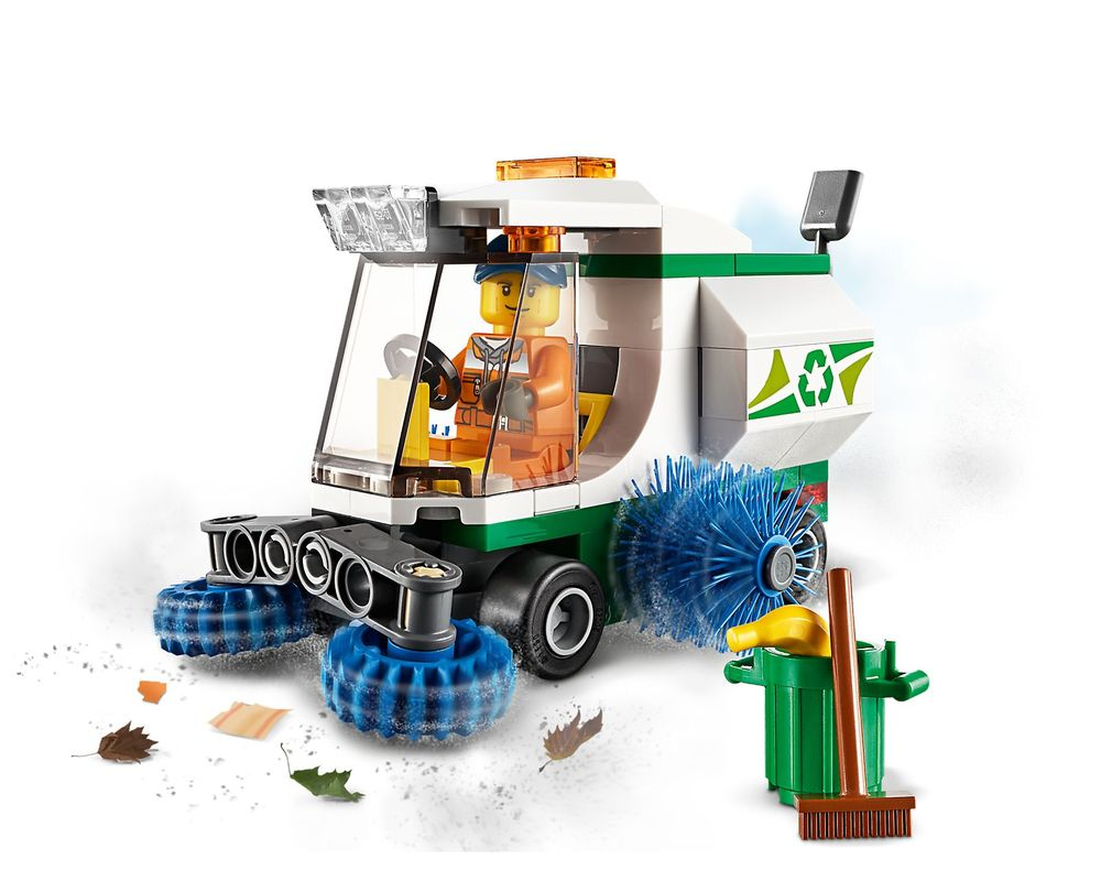LEGO Set 60249-1 Street Sweeper (Model - A-Model)