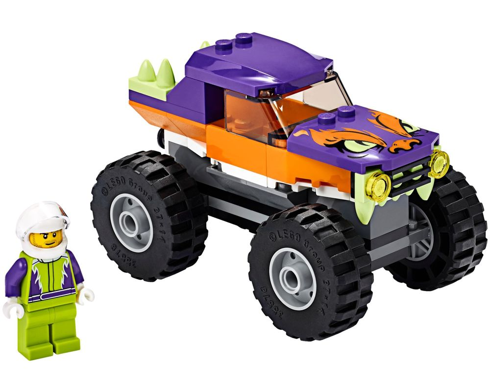 LEGO Set 60251-1 Monster Truck (Model - A-Model)