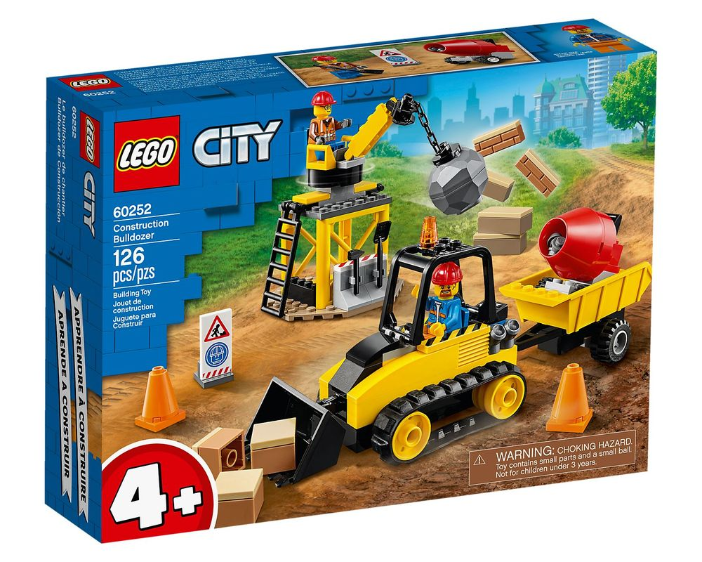 LEGO Set 60252-1 Construction Bulldozer