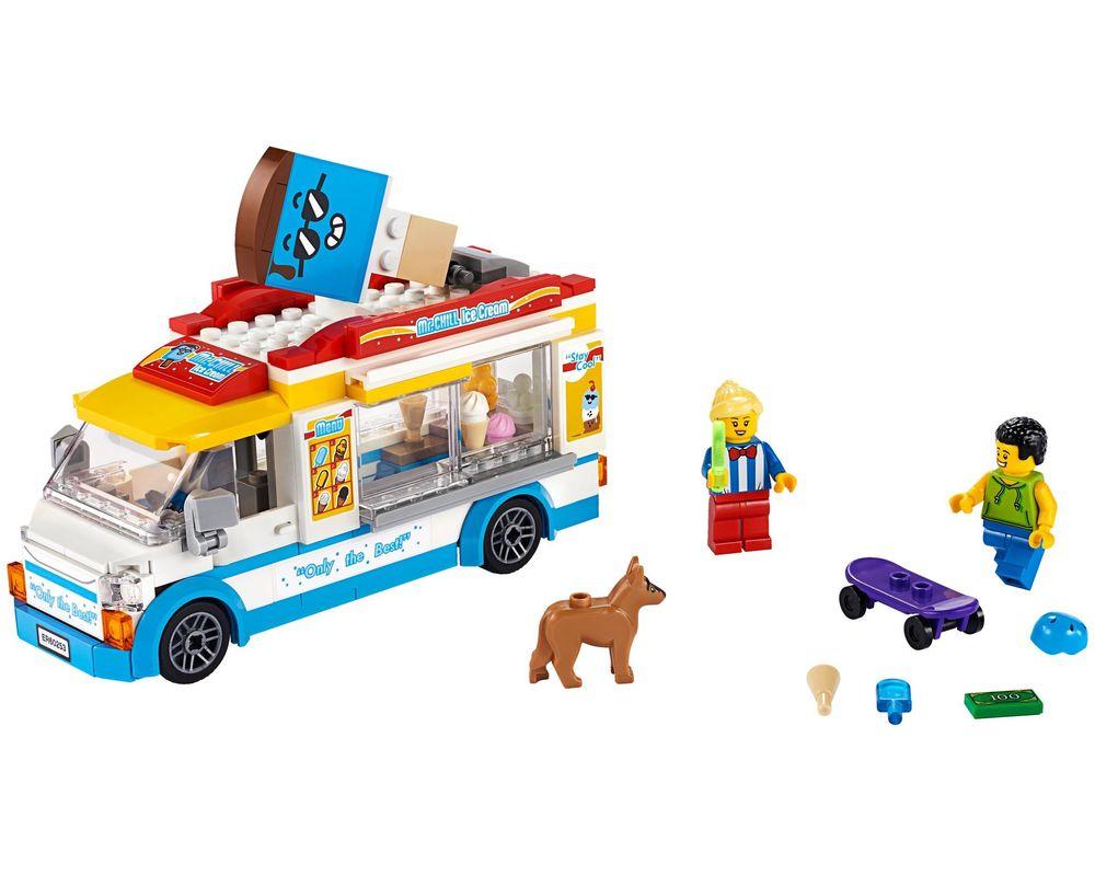 LEGO Set 60253-1 Ice-cream Truck (Model - A-Model)