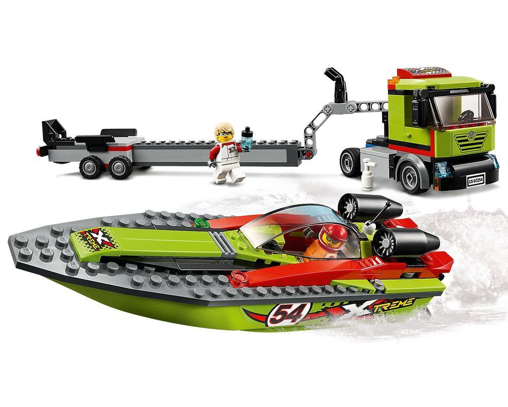 LEGO Set 60254-1 Race Boat Transporter