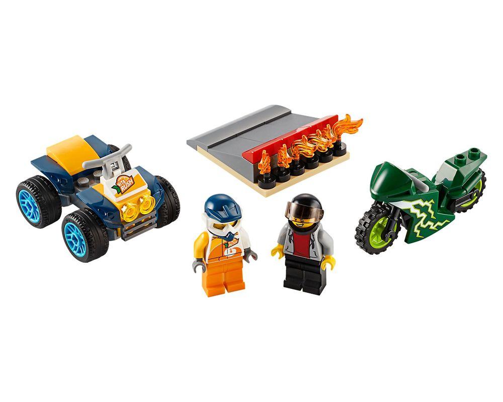 LEGO Set 60255-1 Stunt Team (LEGO - Model)
