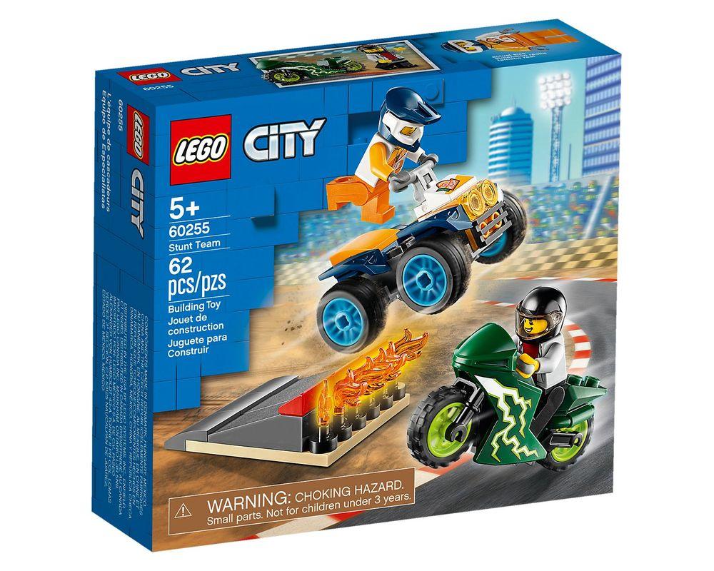 LEGO Set 60255-1 Stunt Team (LEGO - Box Front)