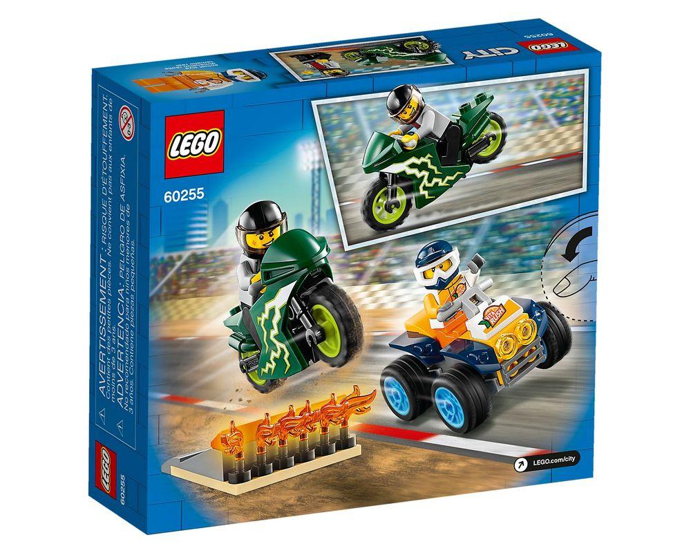 LEGO Set 60255-1 Stunt Team (LEGO - Box Back)