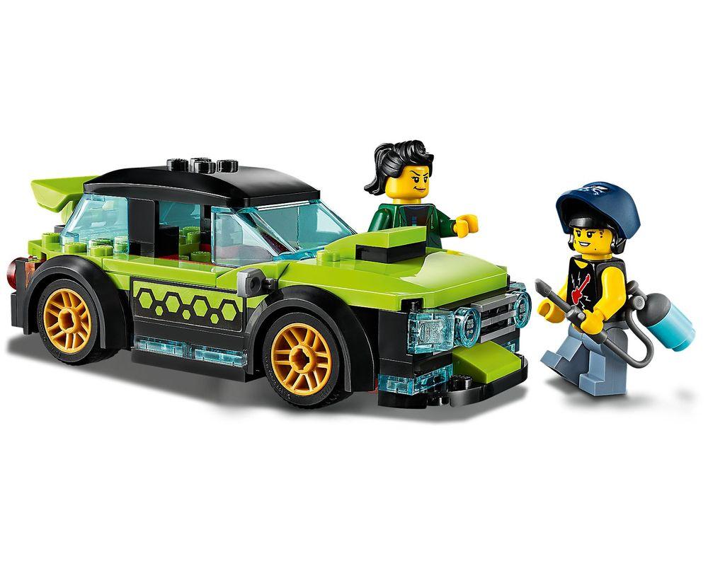 LEGO Set 60258-1 Tuning Workshop (LEGO - Model)
