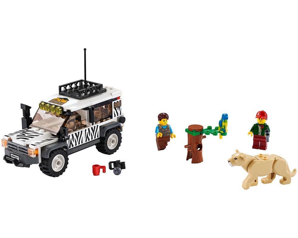 LEGO Set 60267-1 Safari Off-roader (LEGO - Model)