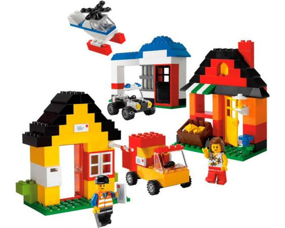 LEGO Set 6194-1 My Own LEGO Town (LEGO - Model)