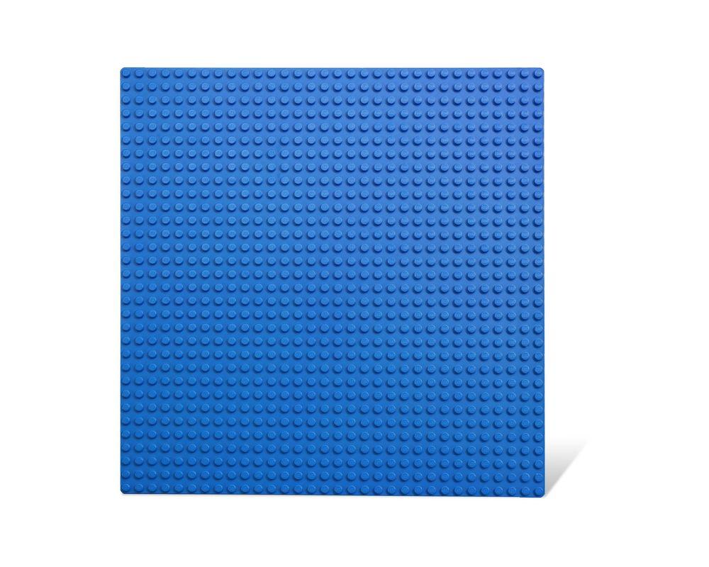 LEGO Set 620-3 Blue Building Plate 32 x 32 (Model - A-Model)
