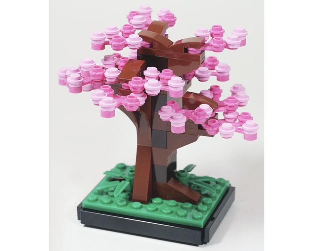 Lego Set 6291437 1 Sakura Tree 2020 Architecture Rebrickable Build With Lego