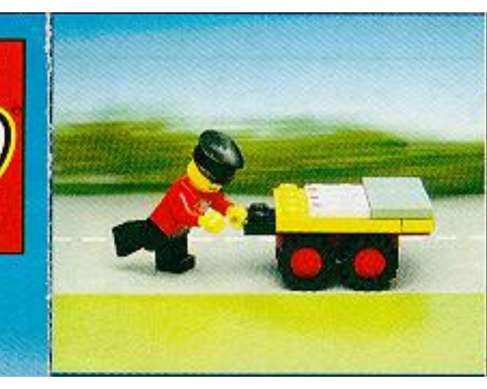 LEGO ® Town Classic recipe 6651 Post Office Van instruction b5472