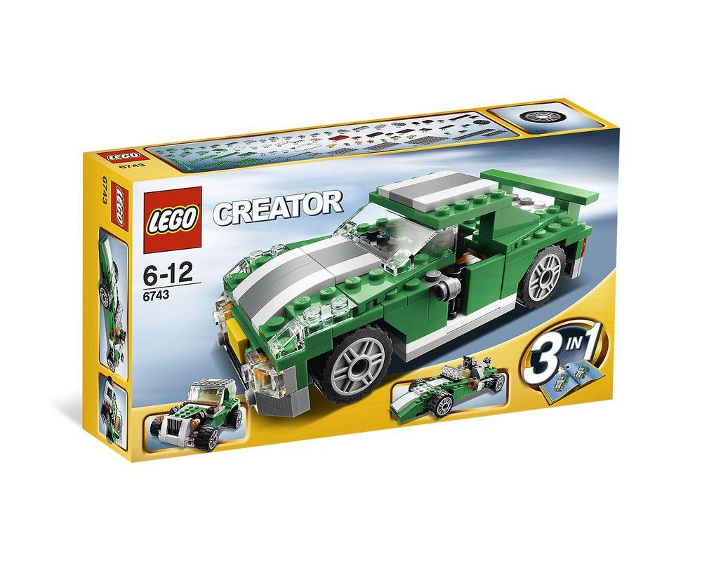 LEGO Set 6743-1 Street Speeder