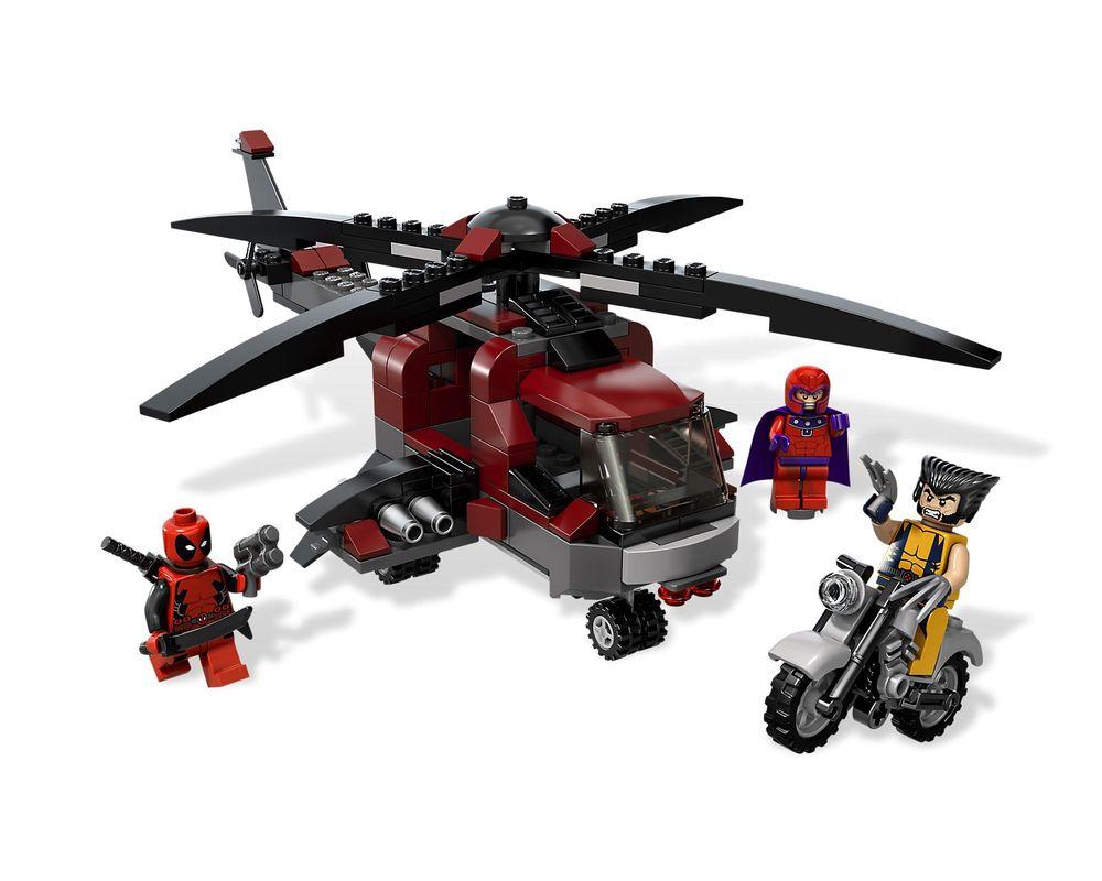 LEGO Set 6866-1 Wolverine's Chopper Showdown (Model - A-Model)