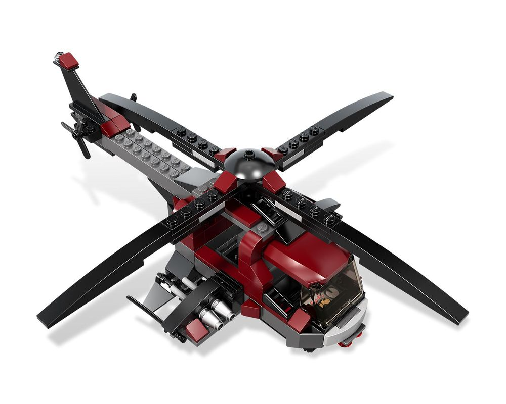 LEGO Set 6866-1 Wolverine's Chopper Showdown