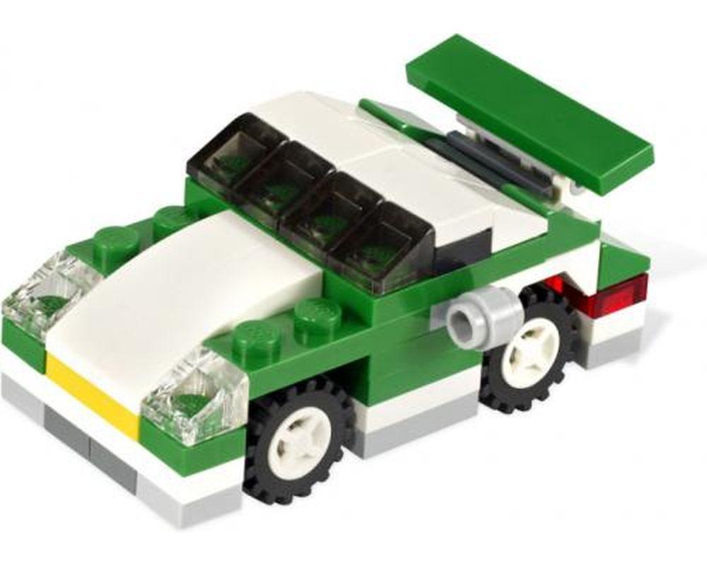 LEGO Set 6910-1 Mini Sports Car (Model - A-Model)
