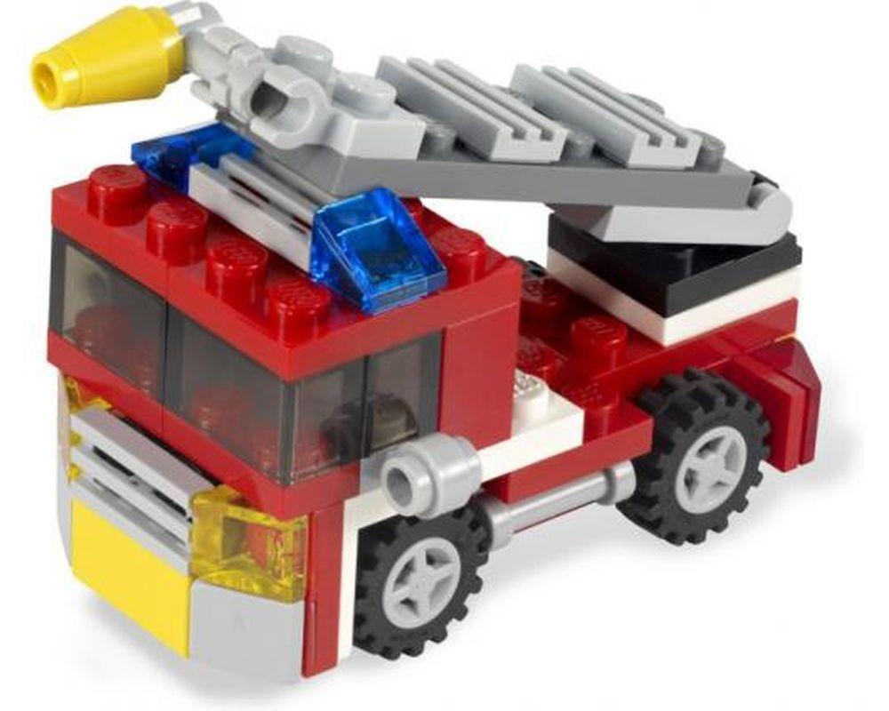 LEGO Set 6911-1 Mini Fire Truck (Model - A-Model)