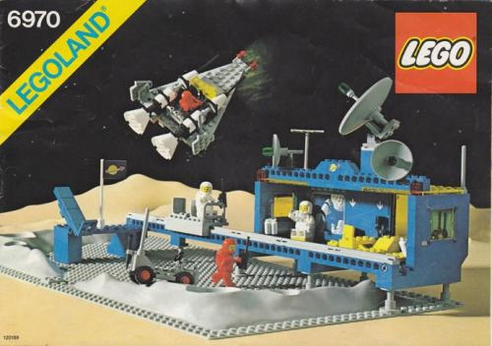 LEGO 6970-1 Beta I Command Base (1980 Space > Classic Space