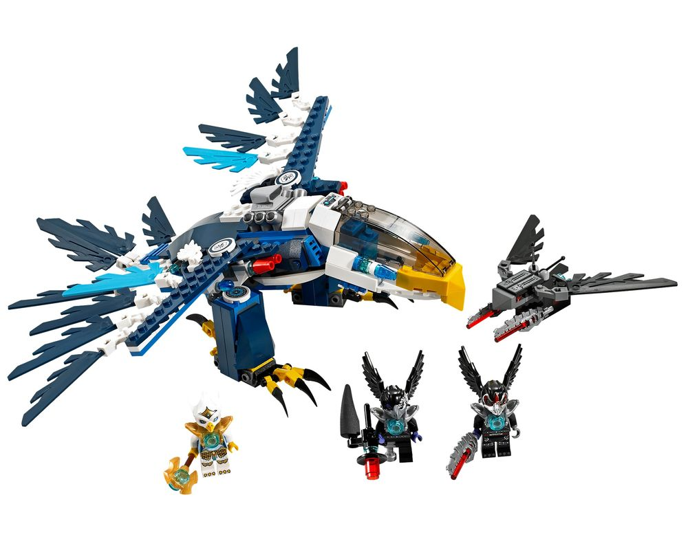LEGO Set 70003-1 Eris' Eagle Interceptor (LEGO - Model)
