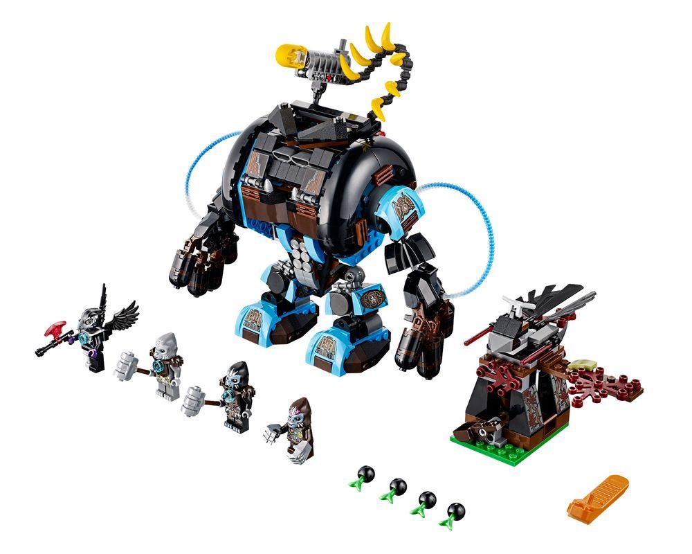 LEGO Set 70008-1 Gorzan's Gorilla Striker (LEGO - Model)