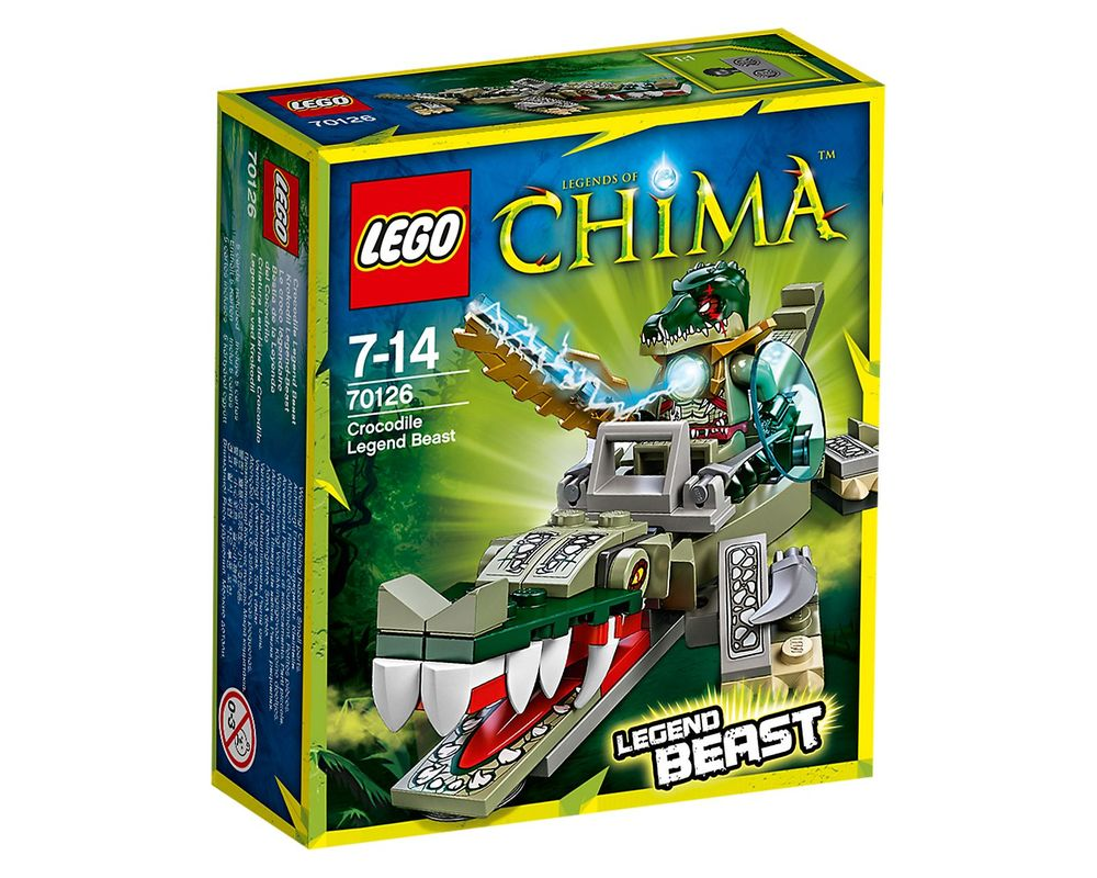 LEGO Set 70126-1 Crocodile Legend Beast