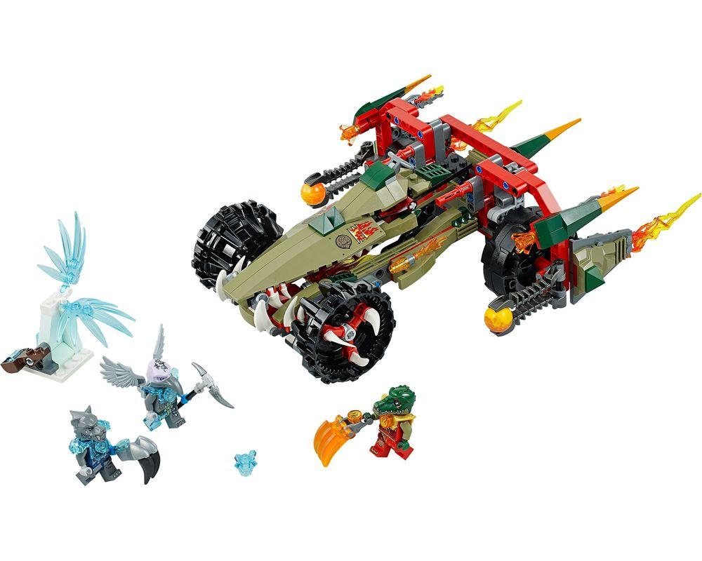 LEGO Set 70135-1 Cragger's Fire Striker (LEGO - Model)