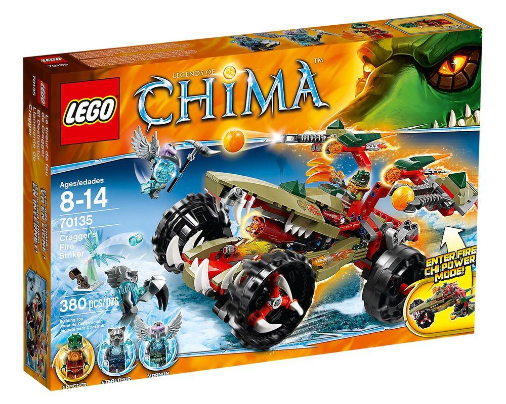 LEGO Set 70135-1 Cragger's Fire Striker