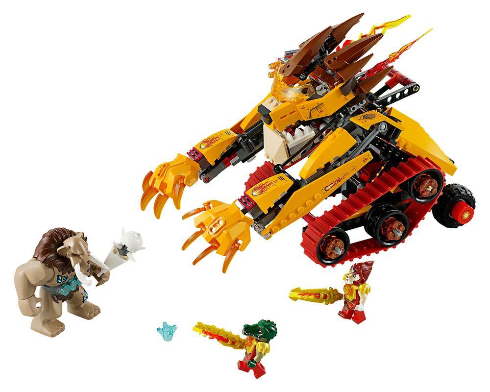 LEGO Set 70144-1 Laval's Fire Lion (LEGO - Model)