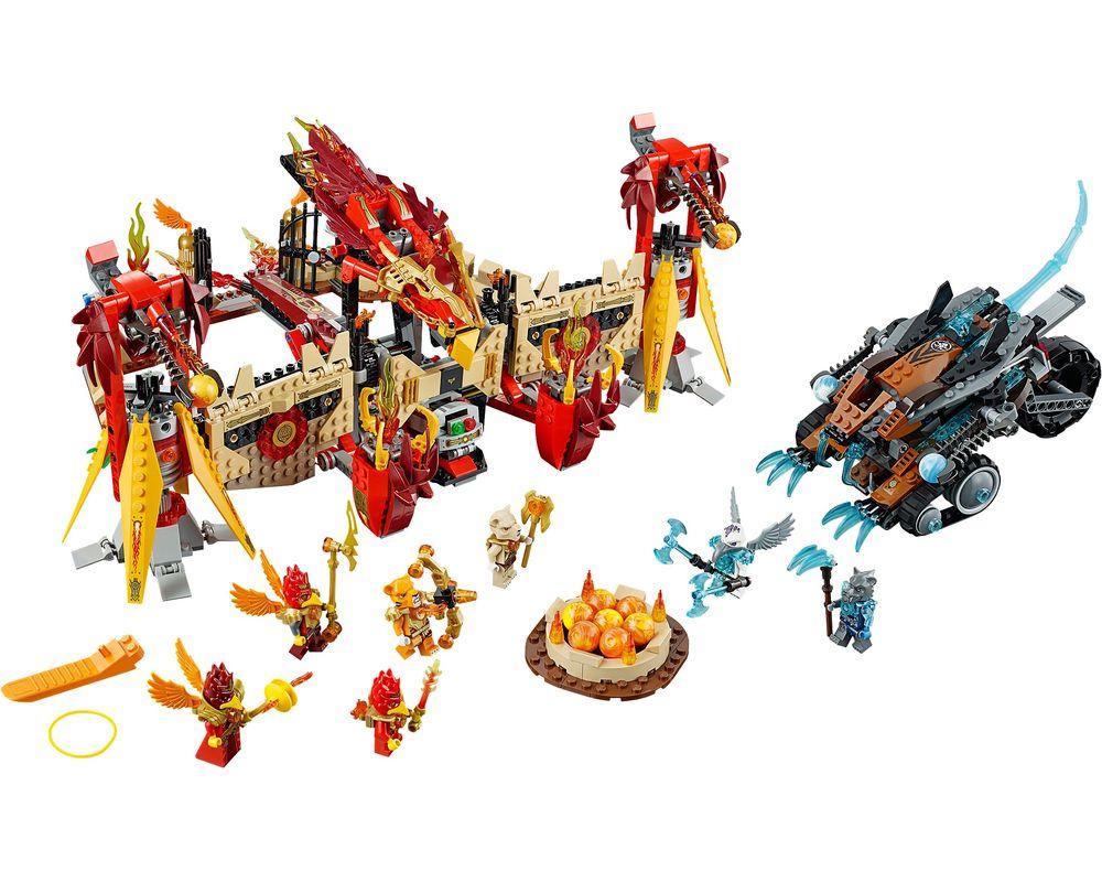 LEGO Set 70146-1 Flying Phoenix Fire Temple (LEGO - Model)