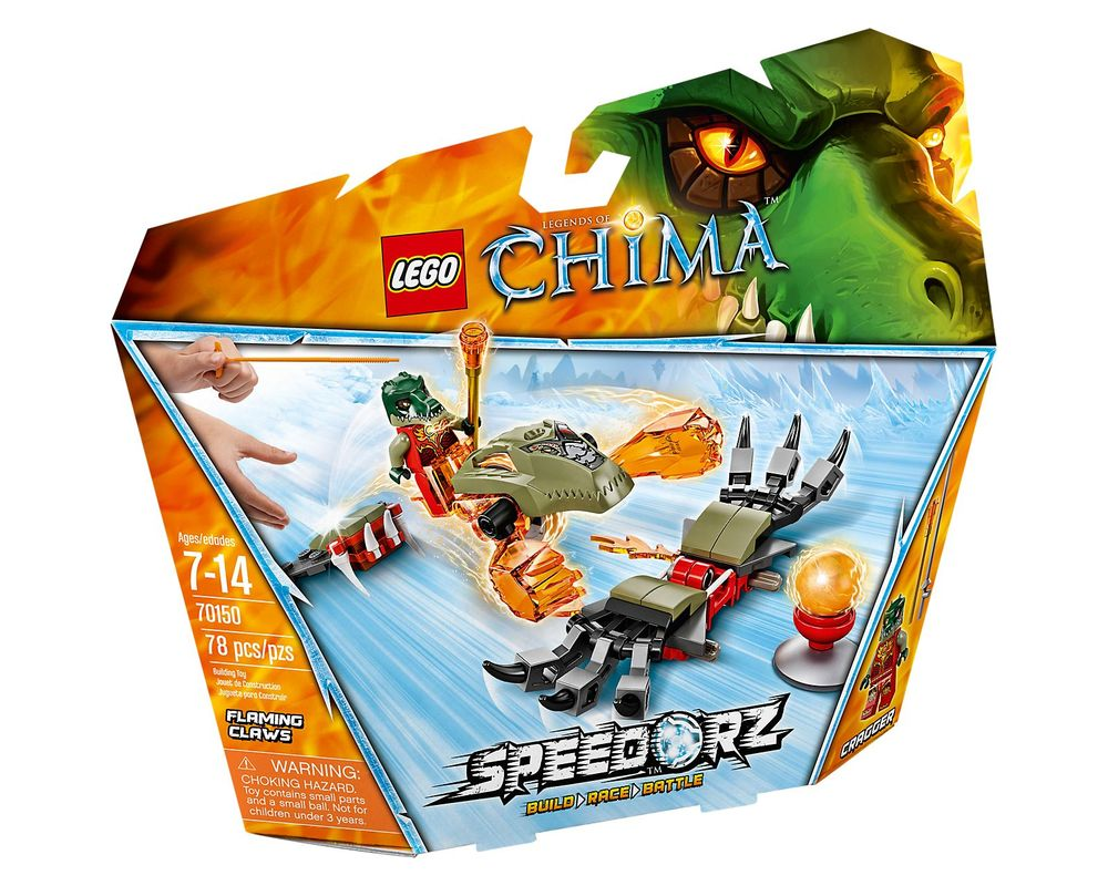 LEGO Set 70150-1 Flaming Claws