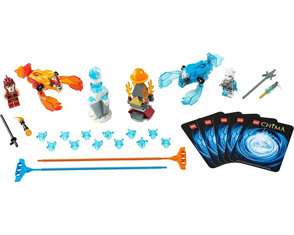 LEGO Set 70156-1 Fire vs. Ice (LEGO - Model)