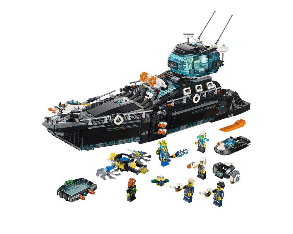 LEGO Set 70173-1 Ultra Agents Ocean HQ (Model - A-Model)