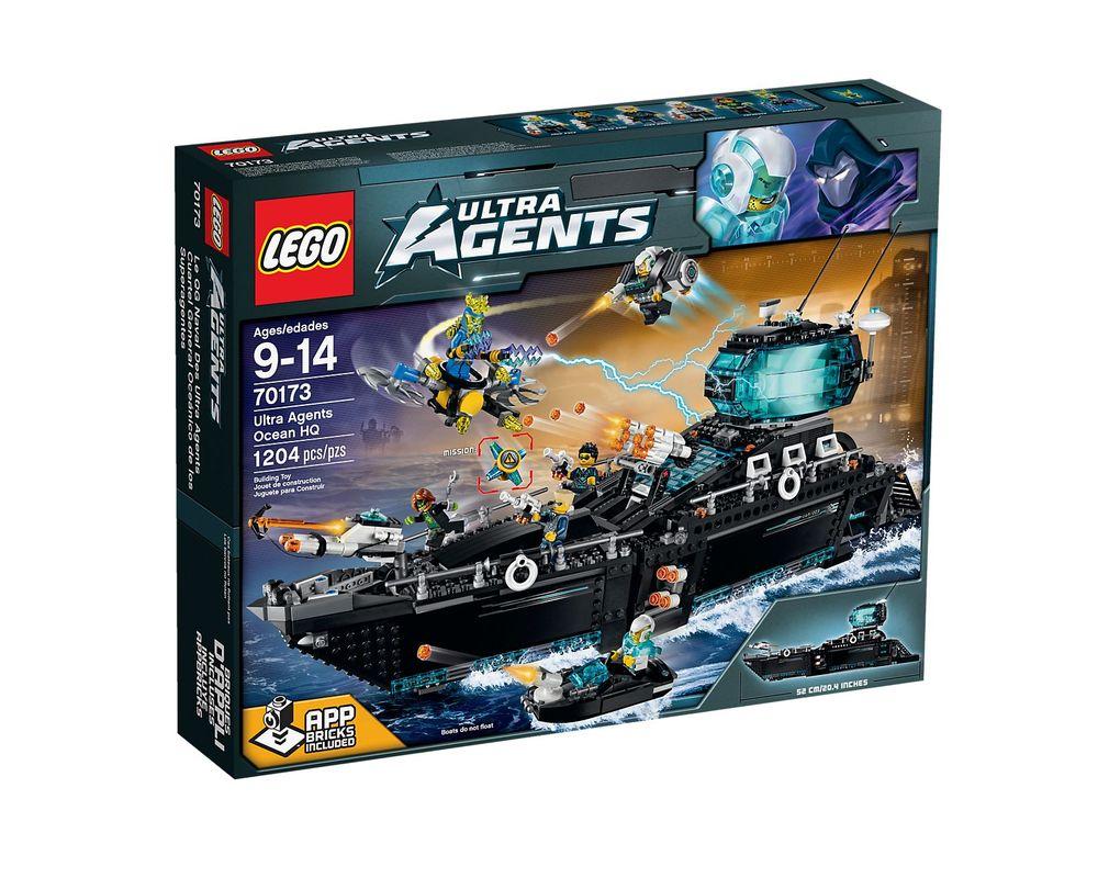 LEGO Set 70173-1 Ultra Agents Ocean HQ
