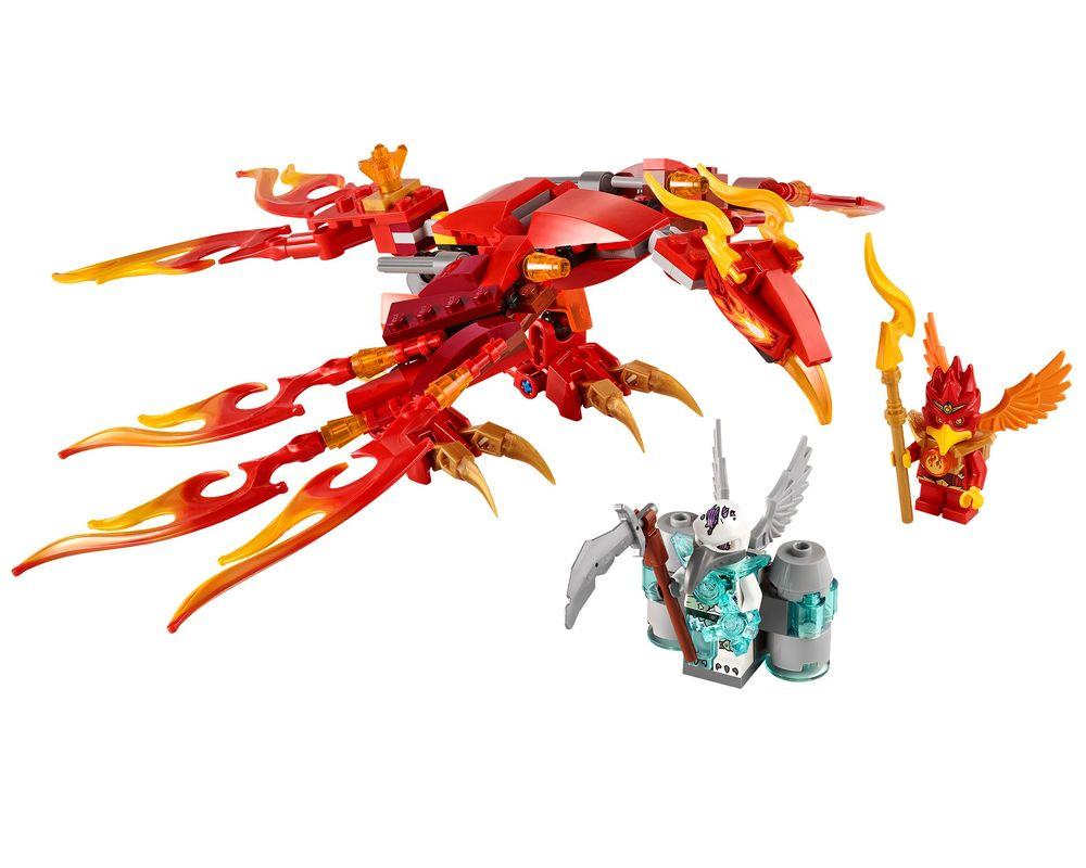 LEGO Set 70221-1 Flinx's Ultimate Phoenix (Model - A-Model)
