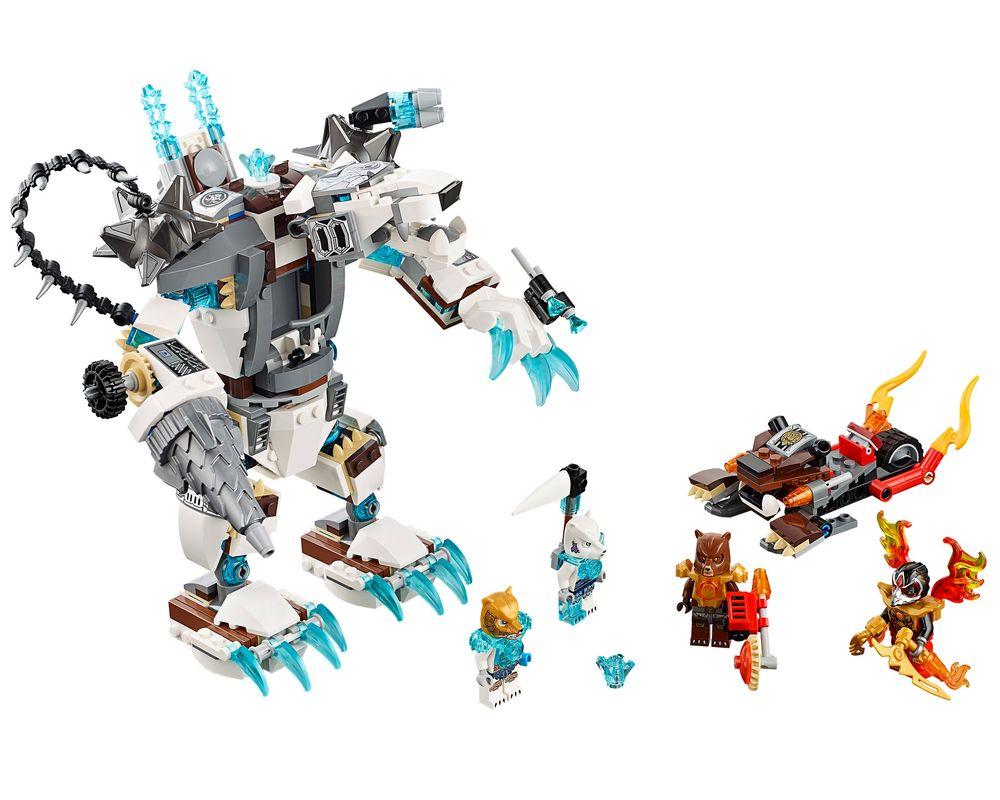 LEGO Set 70223-1 Icebite's Claw Driller (LEGO - Model)