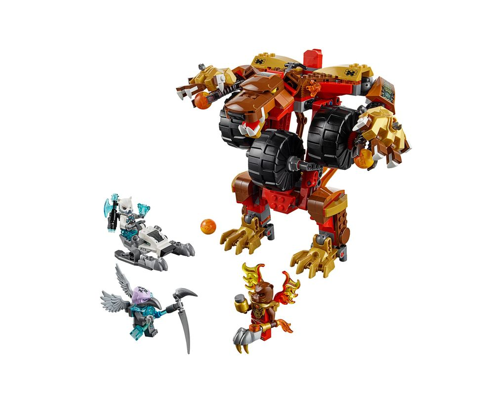 LEGO Set 70225-1 Bladvic's Rumble Bear (Model - A-Model)