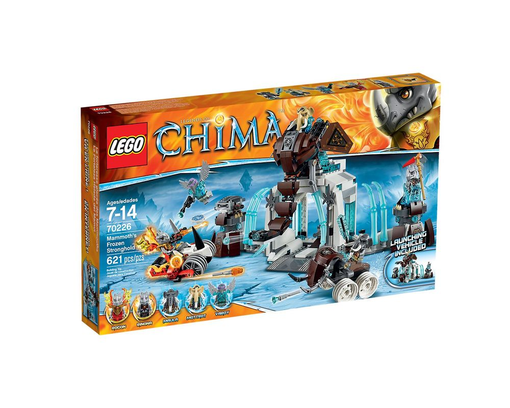 LEGO Set 70226-1 Mammoth's Frozen Stronghold