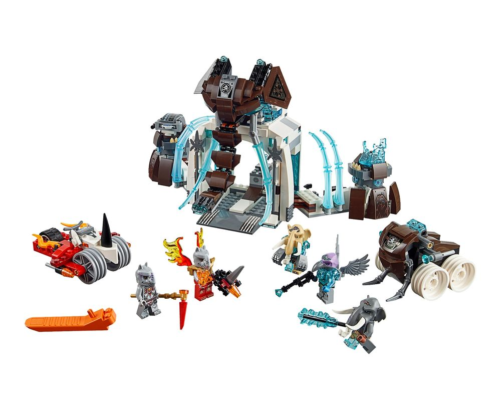 LEGO Set 70226-1 Mammoth's Frozen Stronghold (Model - A-Model)